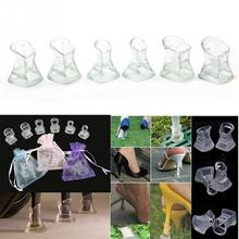Buy 1 Pair High Heel Protectors Latin Stiletto Dancing Covers Heel Stoppers Antislip Silicone High Heeler For Wedding Favor Soft #38 directly from merchant!