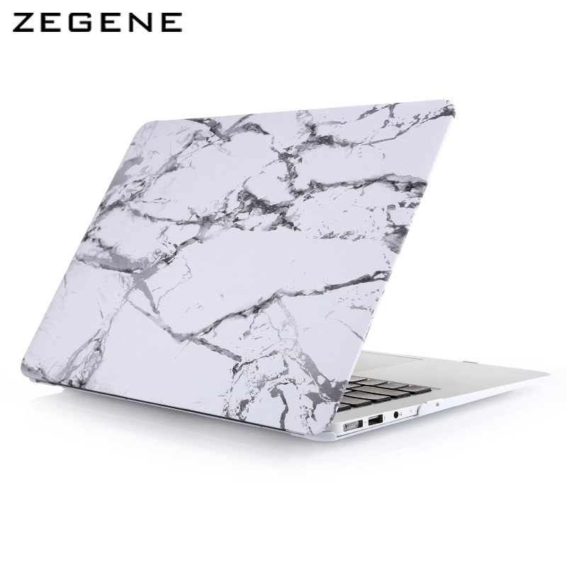 Nieuwe Cool Fashion Marble Texture Matte Case Funda Cover voor - Notebook accessoires