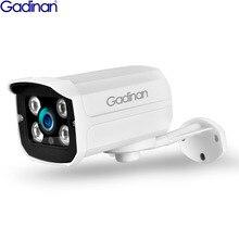 Gadinan H.265X 5MP 2592x1944P 3MP 2MP süper HD IP kamera PoE gece görüş gözetim su geçirmez açık hareket algılama ONVIF