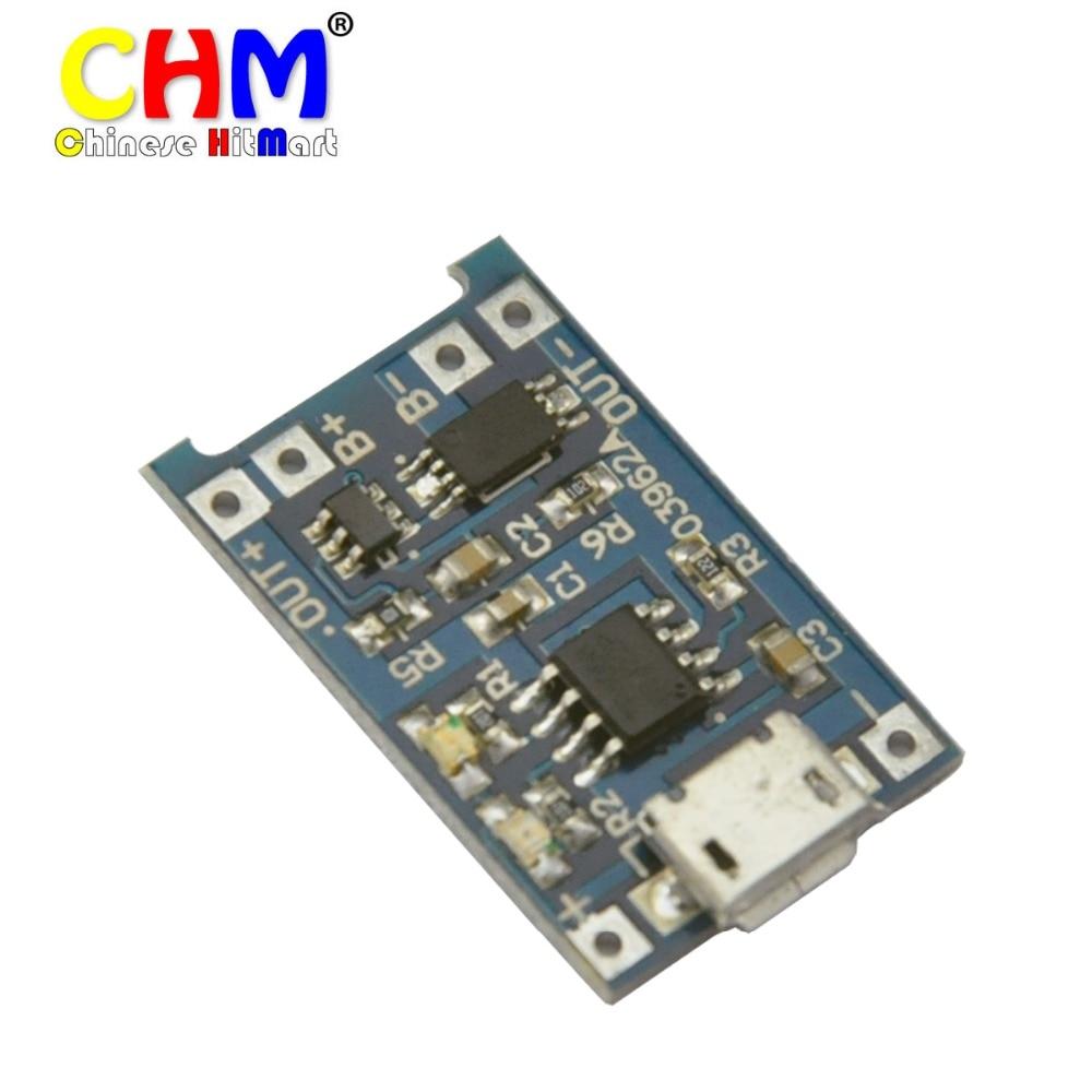 10x Micro Usb Lithium Li Ion Battery Charger Board Module