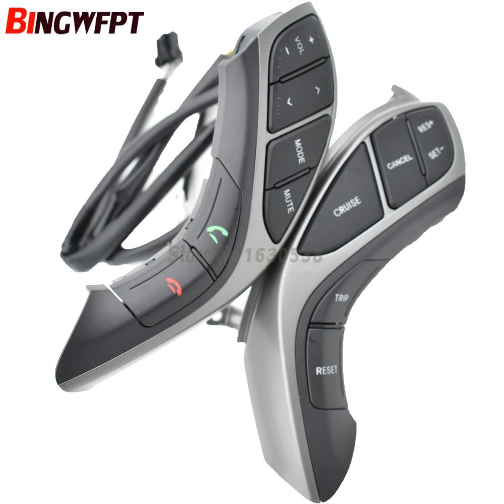 Steering Wheel Bluetooth Audio and Cruise control For Hyundai For Elantra 2012 2015 Car steering wheel