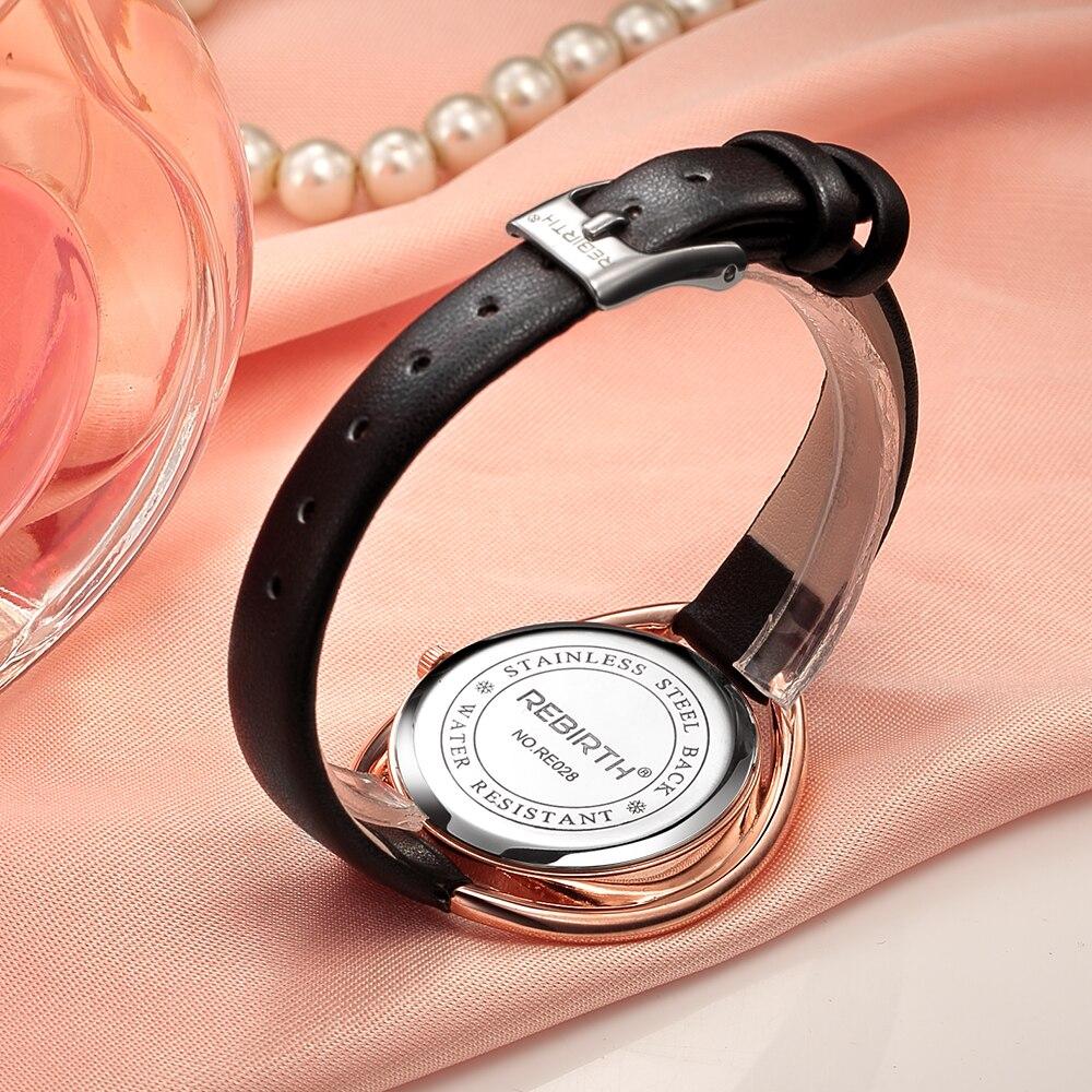 ODRODZENIE 2017 Panie Wrist Watch Kobiety Marka Znani Kobieta Zegar - Zegarki damskie - Zdjęcie 4
