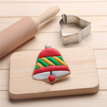 VOGVIGO Baking Mold for Stainless Steel Accessories Christmas single bell Dessert Mould Decoration Tools New 2019