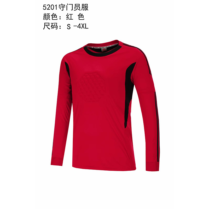 f8bd3814408 18 19 Adult Child Soccer Jersey Goalkeeper Sponge Protector Can  Personalized 2018 Goalkeeper Uniform Suit trousers-in American Football  Sets from Sports ...