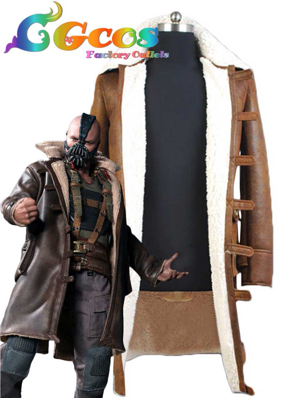 cgcos hot free shipping cosplay costume batman the dark knight rises bane halloween christmas party new - Halloween Costumes Bane