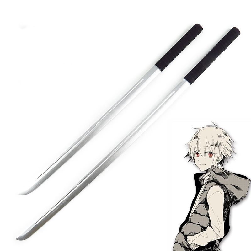 Hot Anime Noragami Yukine Wooden Sword Yukine Cosplay Props Weapons 100CM/120CM Decoration for Halloween Carnival Cosplay Party