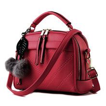 Women's Messenger Bag – PU Leather Solid Color Crossbody Bag – Girl's Purses