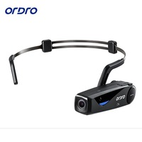 Original ORDRO EP5 Bluetooth 4 0 Hand Free Head Action Mini DV Camera Consumer Camcorders With