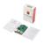 Raspberry Pi 3 Modelo B Kit Junta Oficial Caja de ABS + 2.5A fuente de Alimentación + Interruptor USB Cable + Disipador de Calor para RPI 3 Pi3