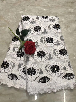 WorthSJLH Latest African Lace Fabric 2019 High Quality Nigerian Lace Fabric 2019 Cord Tulle French Laces Fabrics With Stones(219