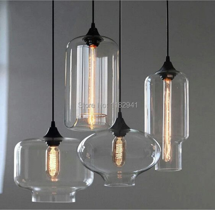 Free shipping new loft style american industrial glass jar pendant free shipping new loft style american industrial glass jar pendant lights for restaurant coffee bar e27 edison bulb in pendant lights from lights lighting aloadofball