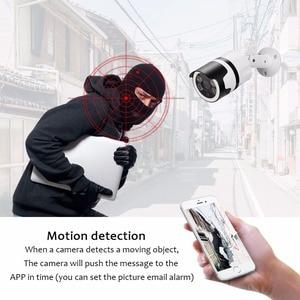 Image 4 - 2mp 미니 홈 와이파이 보안 카메라 야외 1080 p hd 와이파이 ip 카메라 방수 ir 나이트 비전 cctv 감시 총알 캠