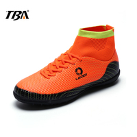 2017 TBA Summer Men's hard wearing Football Boots Trainers Sneakers for student water proof outdoor breathable Soccer Shoes