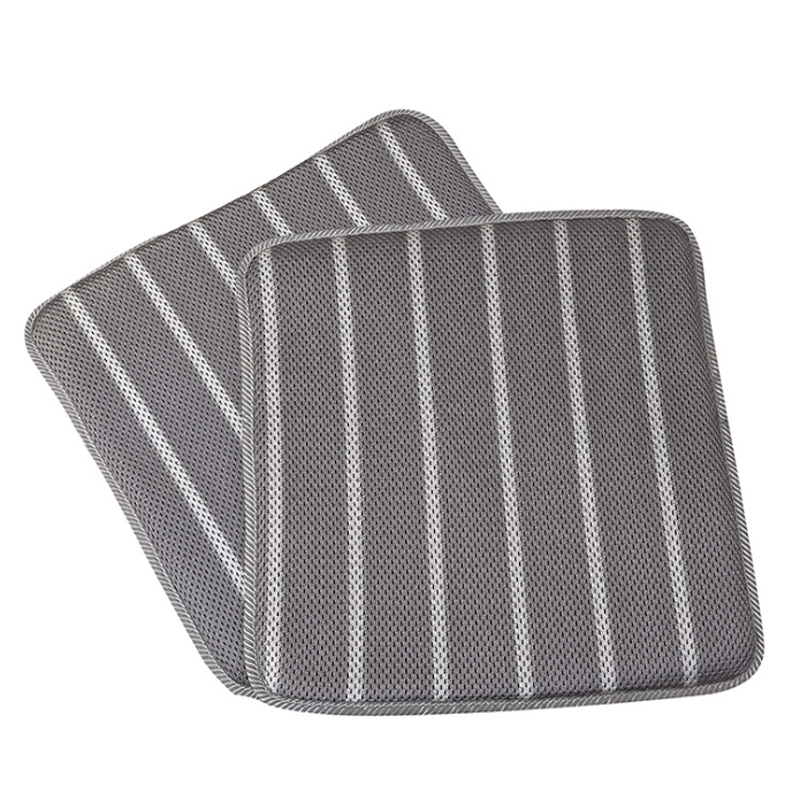 O SHI CAR 3D Breathable Automobile Seat Cushion 1 Piece Square Mat Summer Ventilation And Cooling Ice Silk Car Seat Cover Pad