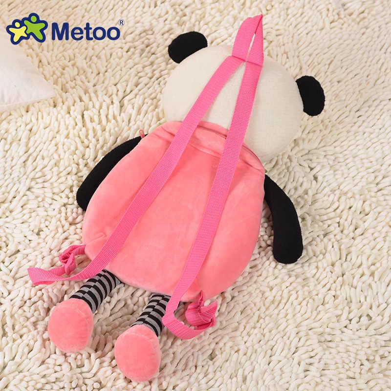 תיקי בית ספר מצויר בובת קטיפה צעצוע ילקוט ילדי כתף תיק עבור גן אנג 'לה ארנב ילדה תרמיל Metoo בובה