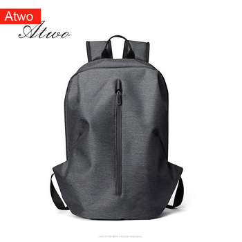 ATWO men Backpack casual college boysBackpack  WaterProof Normcore/Minimalist Travel