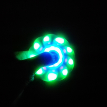 LED Fidget Spinners with Bluetooth Speakers