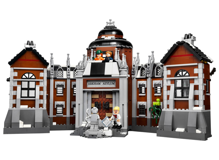 LEPIN Batman Series Arkham Asylum Building Blocks Bricks Movie Model Kids Toys Marvel  Compatible Legoe