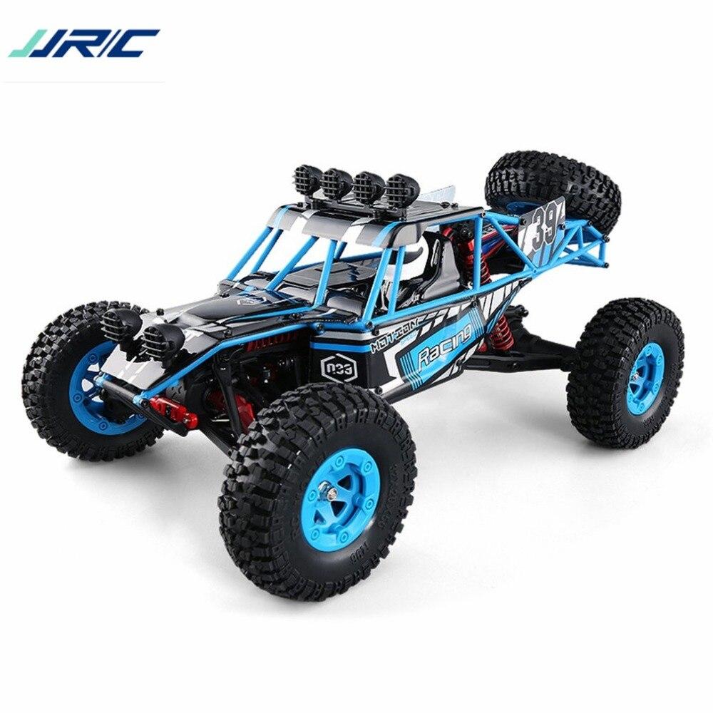JJRC Q39 RC voiture HIGHLANDER 1:12 4WD RC désert camion RTR 35 km/H vitesse rapide haute couple Servo 7.4 V 1500 mAh LiPo hors route voiture jouets
