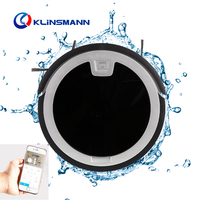 Household High Quality Smart Low Noise Wifi Self Recharge Automatic Robot Vacuum Cleaner