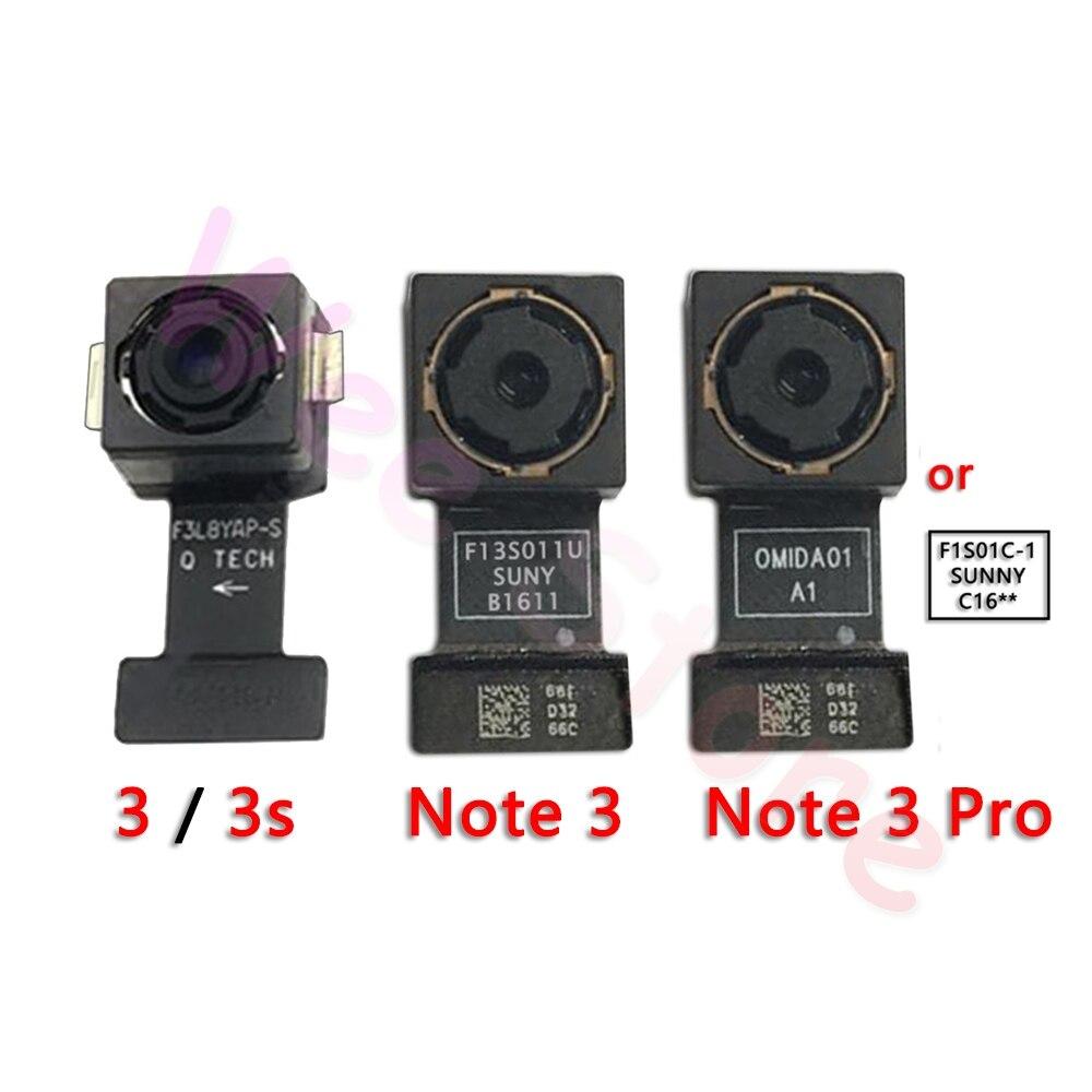 Original Main Back Camera For Xiaomi Mi Redmi Note 3 3s Pro Back Rear Camera Flex Cable