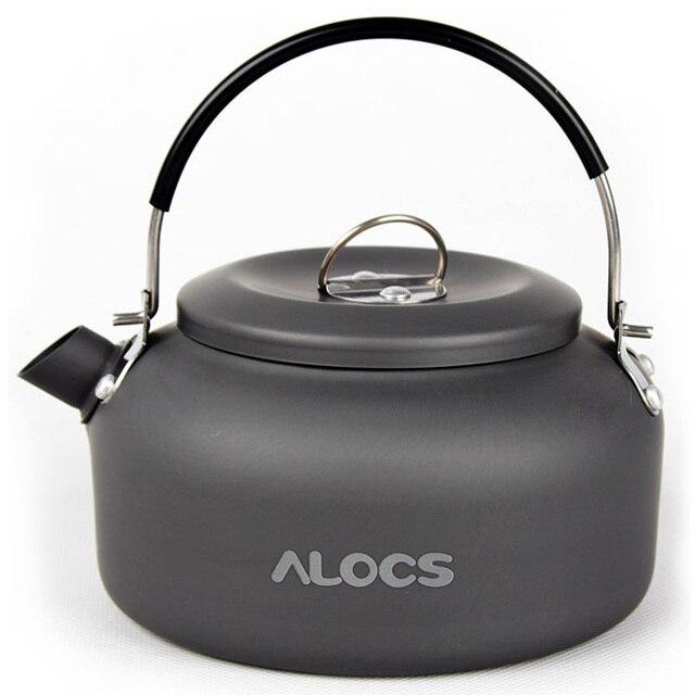 0.8L/1.4L Outdoor Camping Hiking Kettle Water Kettles Coffee Pot Teapot Super light Weight
