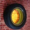 Americano de pneus de parede arandela criativo lâmpada de parede de luz de iluminação de parede Lampara