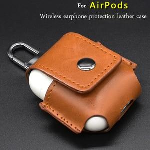 Image 1 - หนังหูฟังสำหรับ Airpods กรณีหูฟังไร้สายป้องกันกันกระแทกป้องกันหูฟังอุปกรณ์เสริม