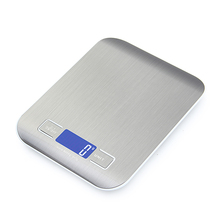 Professional Touch Digital Kitchen Scale   LCD Display   Stainless