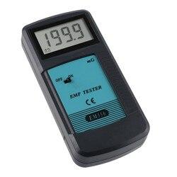 Darmowa wysyłka wysoka dokładność detektor promieniowania elektromagnetycznego 0.1-199.9mG 30 HZ-400 HZ cyfrowy sprzęt do testowania dozymetru EMF