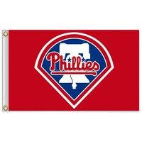 Philadelphia Phillies Major League Baseball MLB Flag 90 150CM MLB Pennant Sports Decoration Free Shipping