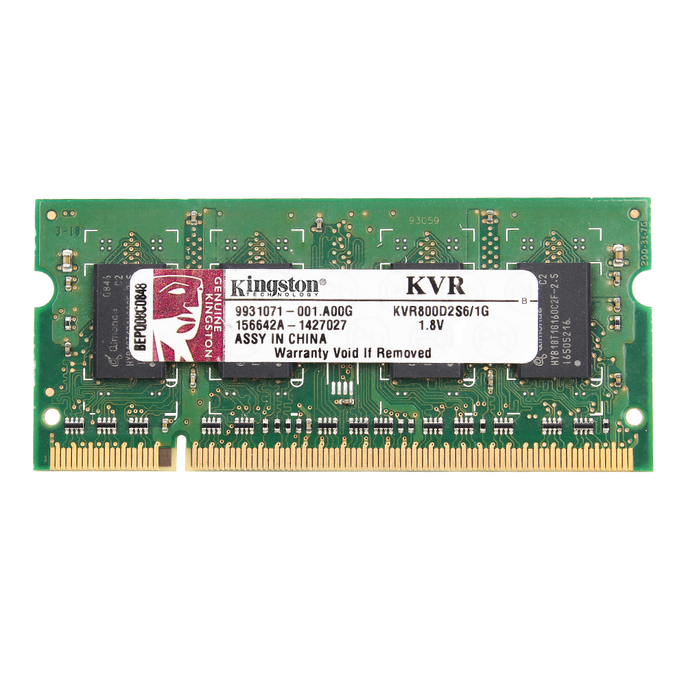 Kingston DDR2 Laptop Memory RAM With 800/667MHz Memory Speed 1