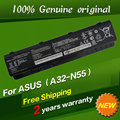 Бесплатная доставка A32-N45 А32-N55 07G016HY1875 Оригинальный Аккумулятор Для ноутбука Для Asus N45 N45E N45S N45F N45J N45JC N45SN N45SJ N45SF N55