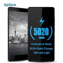 "Vernee Тор e 5020 мАч OTG Мощность экономии 4 г 5.0 ""HD смартфон Android 7.0 MTK6753 Octa Core Телефон 3 ГБ + 16 ГБ 8MP мобильного телефона"