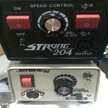 1 takım Diş Jewelly Polisaj Parlatıcı Kalem Oyma Kalem Ana Motor RPM 0 35000 Hız Kontrolü 2 Modelleri  güçlü 90 Güçlü 204
