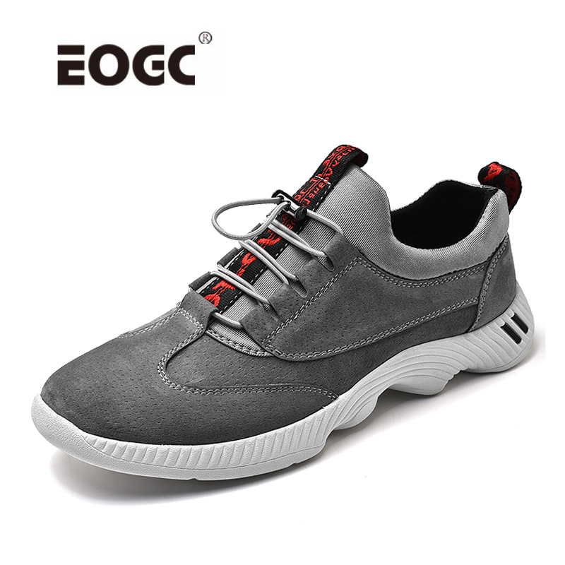 New Casual Shoes Mens Leather Flats Lace-Up Fashion Stylish Male Shoes Large Sizes Sneakers Shoes For Men недорго, оригинальная цена