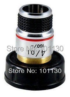 Biological Microscope 185 4x Achromatic Objective Lens Microscope accessories Insect viewer  цены