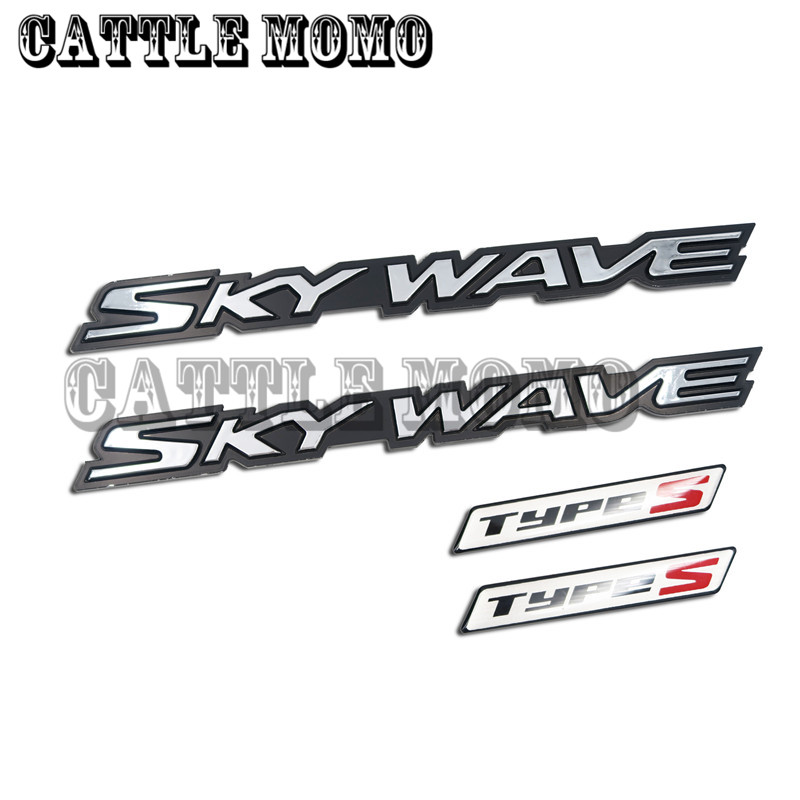 3D Graphic & brand name emblem For Suzuki AN250 AN400