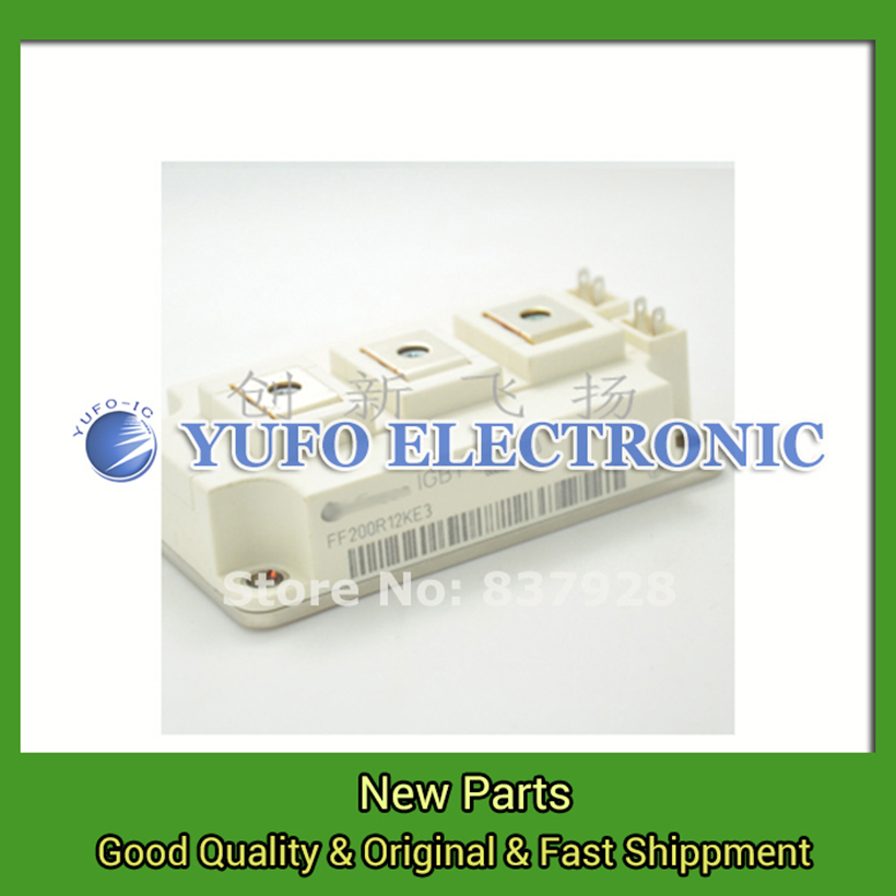 Free Shipping 1PCS  FF200R12KE3 FF200R12KE4 Power Modules original new supply advantages Welcome to order YF0617 relay 1pcs ke lv 11a