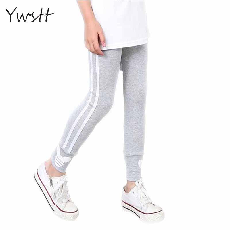 Ywstt Spring Autumn Girls Cotton Pants For Girls Sport Leggings  Girls Casual Thin Leggings Sports Pants Girls Clothings