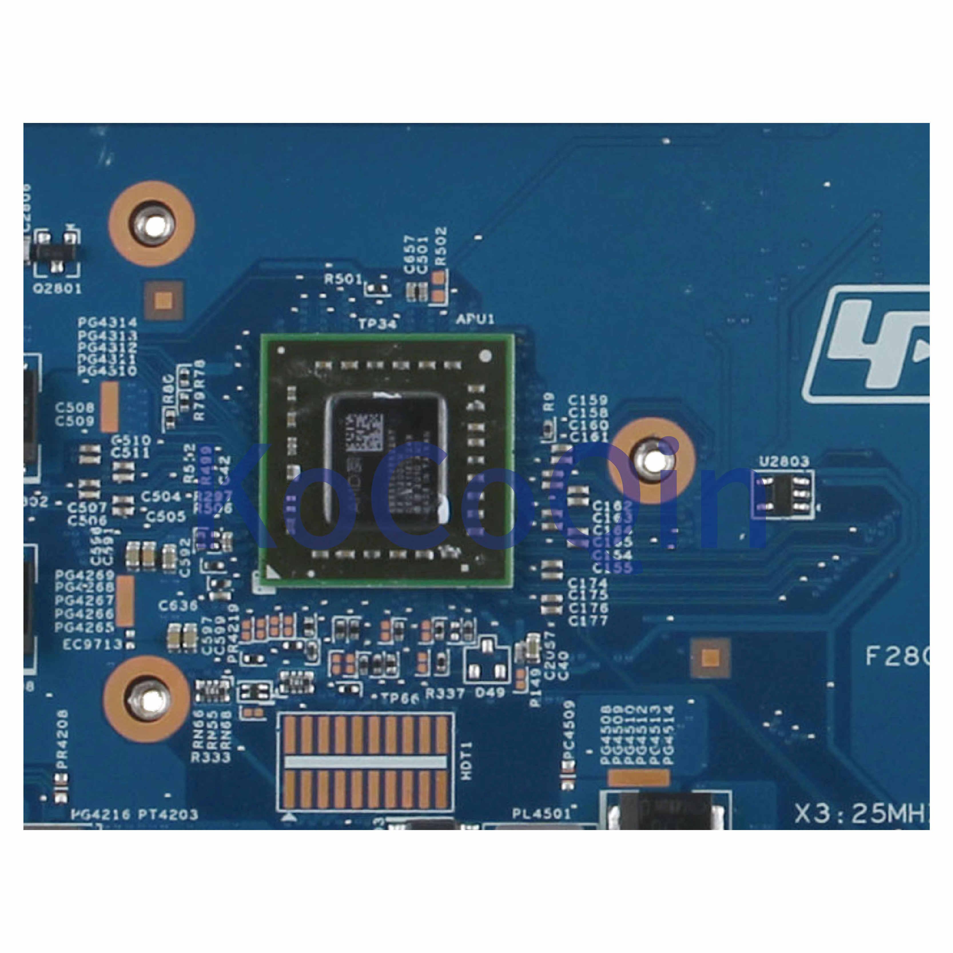 KoCoQin האם מחשב נייד עבור SONY VAIO VPCEL VPCEL22FX MBX-252 A1829669A Mainboard S0206-1 Z50-BR 48.4MS02.011 EME3500 מעבד