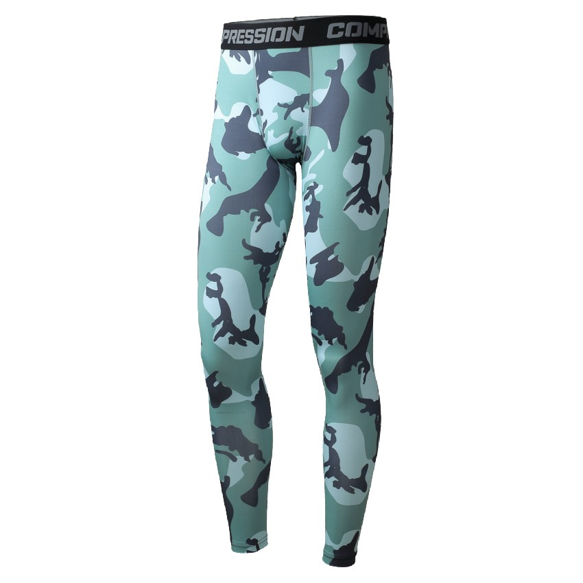 Camouflage pants 3d printing new man movement fitness pants trousers of compressed air man size s
