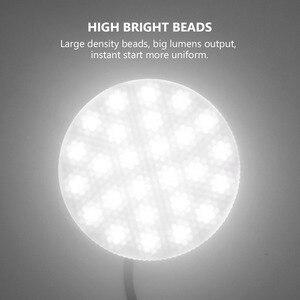 Image 3 - Mới GX53 LED 5W 7W 9W 12W 15W 18W Lampada LED Tủ LED bóng Đèn Ac 110V 220V Tủ Rượu Ánh Sáng Ấm Lạnh Trắng Sáng