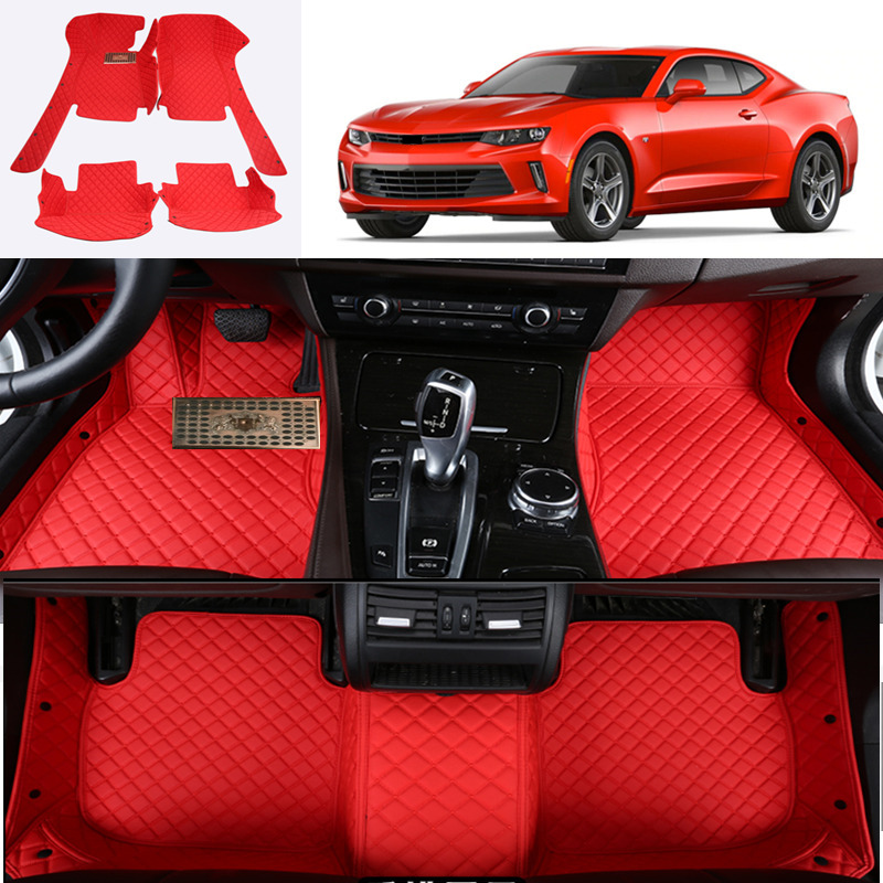 for Chevrolet Camaro 2017 2018 Accessories Interior Car Floor Mats Carpets Pad 1SET