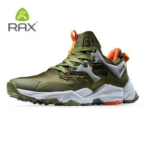 Image 3 - Мужская обувь для походов RAX, легкая Нескользящая амортизирующая Уличная обувь для мужчин, дышащие кроссовки для скалолазания, 423