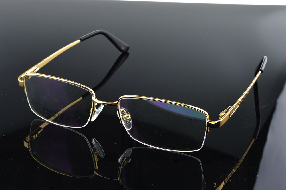 Ip Titanium Ultra Light Men's Business Frames Eyewear Custom Made Optical Prescription Reading Glasses Photochromic +1 To +6