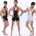 Brand new WJ Men's Mesh Jockstrap Wrestling Singlet Struggles Bodysuit Backless Bodywear 2 colors