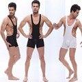 Marca nova Malha dos homens WJ Jockstrap Wrestling Struggles Singlet Bodywear Bodysuit Sem Encosto 2 cores