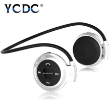 Buy For iPhone Samsung Phones mini Universal Wireless Sports Headphone Bluetooth Stereo Headset Music Earphone With Built-in