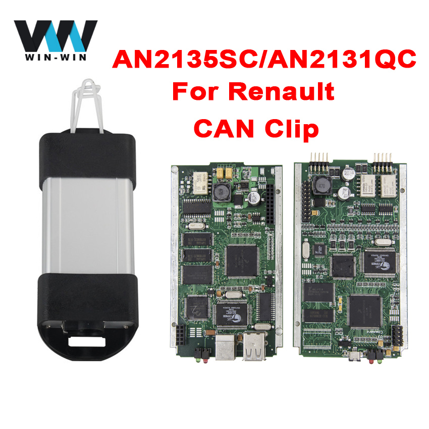 buy for renault v160 an2135sc an2131qc cypress full can clip obd obd2. Black Bedroom Furniture Sets. Home Design Ideas
